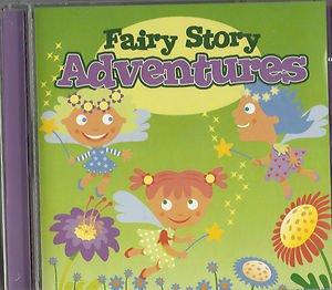 Fairy Story Adventures CD 2008 Snow White - Goldilocks - Pinocchio - Rapunzel