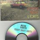 Attic Lights - Friday Night Lights -FULL PROMO- (CD 2008) Digipak / 24HR POST