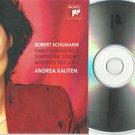 Andrea Kauten - Robert Schumann -Symphonic -FULL PROMO- CD 2009 / 24HR POST