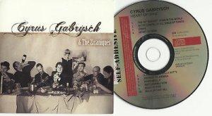 Cyrus Gabrysch - Heart of Wine -FULL PROMO- CD 2008 SLIPCASE / 24HR POST