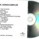 Various - Essential Songs 2008 -PROMO SAMPLER- (CD 2007) 15 Trks / 24HR POST