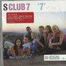 S Club 7 - 7  (ECD 2000) ENHANCED AND EXTRA TRACKS / 24HR POST