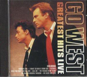 Go West - Greatest Hits Live [Pegasus] (Live Recording) (CD 2004) 24HR POST
