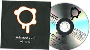 YIMINO - AUTONOE VORA -FULL PROMO- CD 2008 / 24HR POST