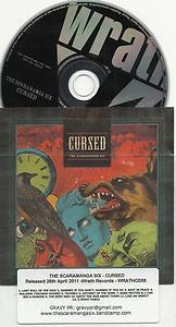 The Scaramanga Six - Cursed -FULL PROMO- (CD 2011) 24HR POST
