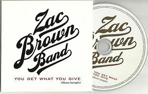 Zac Brown Band - You Get What You Give -PROMO ALBUM SAMPLER-(CD 2011)
