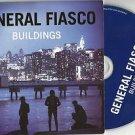 General Fiasco - Buildings  -FULL PROMO-(CD 2010) SLIPCASE /24HR POST