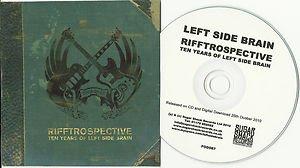 Left Side Brain - Rifftrospective -FULL PROMO- Best Of (CD 2010) 24HR POST