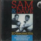 SAM & DAVE - 20 GREATEST HITS CD Master Music MM85033 / 24HR POST