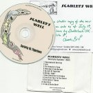 Scarlet's Well - Society of Figurines -FULL PROMO +Signed Insert (CD 2010)