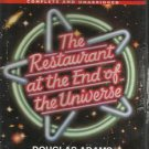 Audio Book  Douglas adams - The Restaurant at the End of the Universe  4Cassette