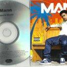 Mann : Manns World -OFFICIAL FULL PROMO- (CD 2011) numbered - 50 Cent 24HR POST