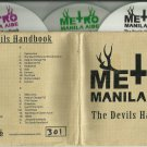 Metro Manila Aide - The Devils Handbook -3 of 4 CDs PROMO- Numbered / 24HR POST