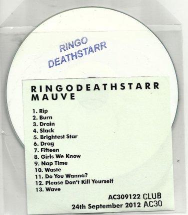 RINGODEATHSTARR  - Mauve -OFFICIAL ALBUM PROMO- CD 2012  /24HR POST