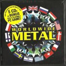 Various - Worldwide Metal (5 x CD + PC GAME 2008) earache Records / 24HR POST