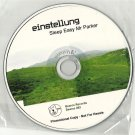 Einstellung - Sleep Easy Mr Parker -RARE OFFICIAL FULL PROMO- CD 2006 /24HR POST