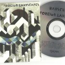 Hauschka - Foreign Landscapes -OFFICIAL ALBUM PROMO- CD 2010 / 24HR POST