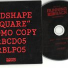 Redshape : Square -OFFICIAL ALBUM PROMO- (CD 2012) 24HR POST