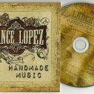 Lance Lopez - Handmade Music -FULL PROMO- CD 2011 Slipcase / 24HR POST