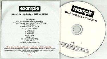 Example - Won't Go Quietly -FULL PROMO- CD 2010 / 24HR POST