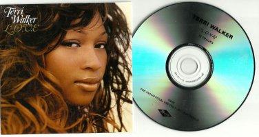 Terri Walker -  L.O.V.E.-FULL PROMO-  (CD 2005) 24HR POST