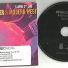 Kevin Costner - Turn It On -FULL PROMO- (CD 2010) Modern West CD 2010