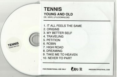 Tennis - Young & Old -OFFICIAL ALBUM PROMO- (CD 2012) 24HR POST