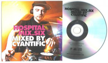 Various - Hospital Mix 6 -RARE OFFICIAL PROMO- CD 2008 Nu Tone - Apex -Logistics