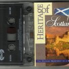 Various  : Heritage of Scotland   CASSETTE 1995 HM Royal Marines - Steve Kendall