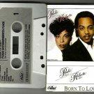 Peabo Bryson & Roberta Flack - Born To Love  CASSETTE Capital 1983  Paper Label