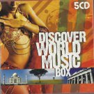 Various - DISCOVER WORLD MUSIC BOX  5xCDs 2007/ 24HR POST