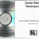 Lower Dens : Nootropics -RARE OFFICIAL ALBUM PROMO- (CD 2012) 24HR POST