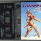 THUNDER   Don't wait up  CASSETTE 1997 RAW POWER (3 tracks)  24HR POST