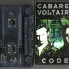 CABARET VOLTAIRE -  CODE  CASSETTE 1987 Parlophone / 24HR POST