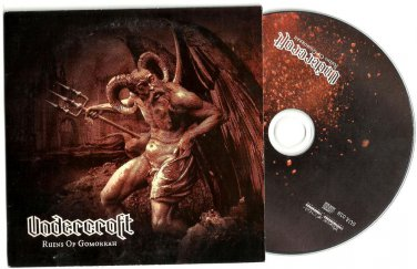 Undercroft : Ruins Of Gomorrah  -RARE OFFICIAL ALBUM PROMO- (CD 2012)  24HR POST