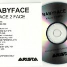 Babyface : Face 2 Face -OFFICIAL ALBUM PROMO- (CD 2001)  24HR POST