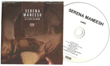 Serena Maneesh : S-M 2: Abyss In B Minor -RARE OFFICIAL ALBUM PROMO- (CD 2010)