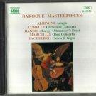 Various - Baroque Masterpieces (CD 1995) HANDEL - ALBINONI - CORELLI - PACHELBEL