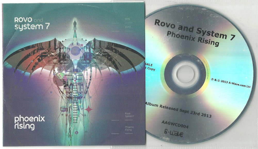 Rovo And System 7 - Phoenix Rising  -OFFICIAL FULL PROMO- (CD 2013)  24HRPOST