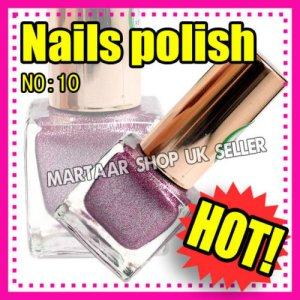 New hand beauty metalic nail polish varnish.Use on natural or false nails PURPLE