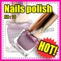 New hand beauty metalic nail polish varnish.Use on natural or false nails PURPLE