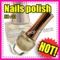 New hand beauty metallic nail polish varnish.Use on natural or false nails BROWN
