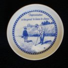 Spode Blue Collection Improvisation Coaster