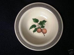 Pfaltzgraff Farmers Market Peaches Cereal Soup Bowl