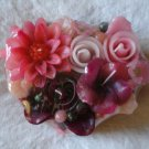 Handmade Decorative Scented Floral Heart  Candle P08