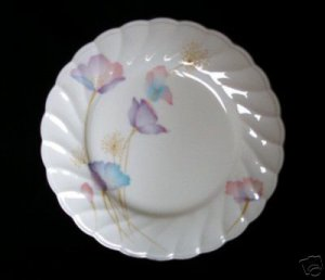 Noritake 9902 Scalloped Floral Bone China Salad Plate