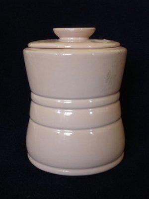 "Frankoma Pottery Plainsman 6 1/2"" Small Canister #26C"