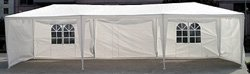 10' x 30' White Party Tent w/Windows & Sidewalls**PRICE DROP UNTIL