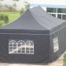 Windowed Party Tent measures 12' x 24'  (ITEM#WP12X24)