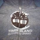 BOYS 3T TIMBERLAND ZIP FRONT WEATHERED LOOK HOODIE EUC